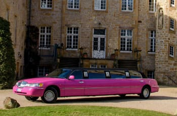 Lincoln Pink Stretchlimousine